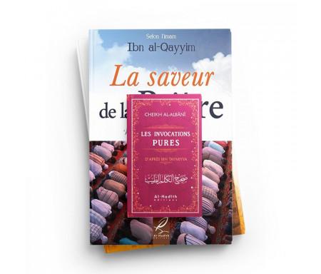Pack : Cadeau Pour ma soeur (3 livres) La Saveur de la Prière / Les Invocations pures / Comment augmenter ma foi