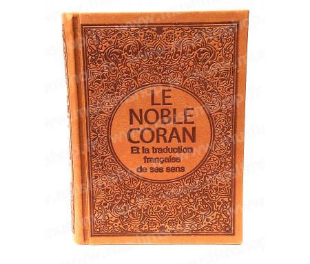 Le Saint Coran Arabe - Français (Format Poche) - Marron