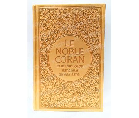 Le Saint Coran Arabe - Français (Grand Format) - Doré