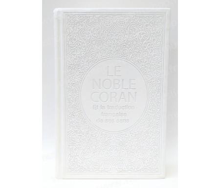 Le Saint Coran Arabe - Français (Grand Format) - Argenté