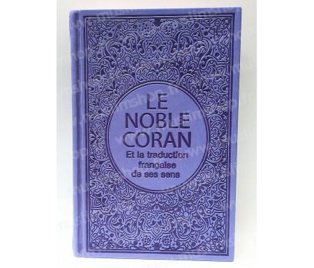 Le Saint Coran Arabe - Français (Grand Format) - Violet