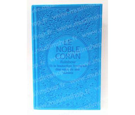 Le Noble Coran Rainbow Arabe - Français (Grand Format) - Blanc