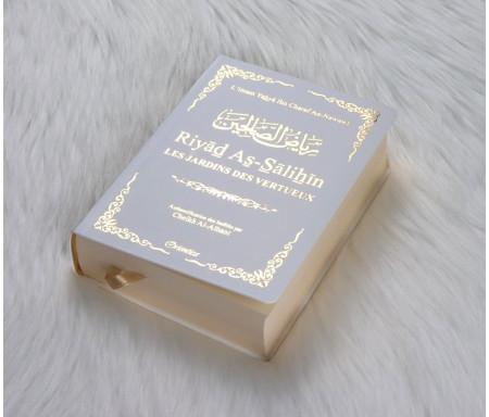 Riyâd As-Sâlihîn - Les Jardins des Vertueux en format de poche - couleur Blanc doré