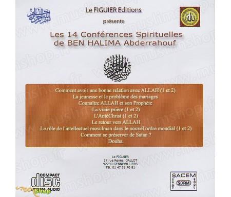 Les 14 Conférences Spirituelles de BEN HALIMA Abderrahouf