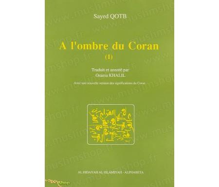 A l'ombre du Coran -Tome 1 - Avec une nouvelle version des significations du Coran