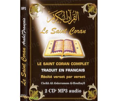 Le Saint Coran Arabe-Français en MP3 par Cheikh Al-Houdhayfi
