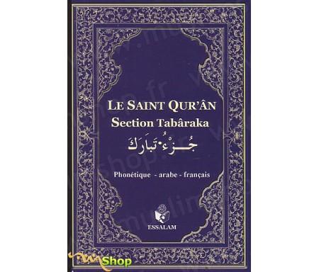 Le Saint Qur'ân - Section Tabaraka