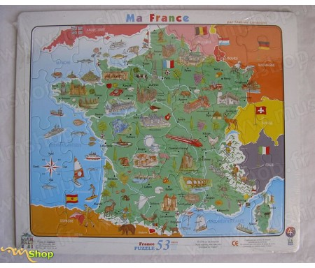 Puzzle - Ma France