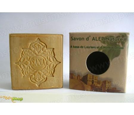 Savon d'Alep Naturel à base de Lauriers et d'Huile d'olive