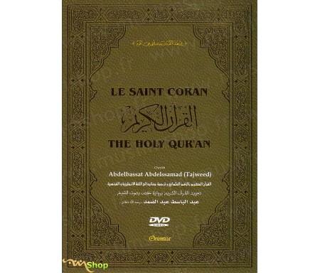 DVD Le Saint Coran complet avec traduction française - Cheikh Abdelbassat Abdelssamad