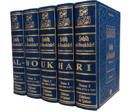 Sahîh Al-Boukhârî (arabe-français) - 5 Tomes (Offre éditeur : 3 premiers Tomes achetés = le 4ème et 5ème OFFERT)