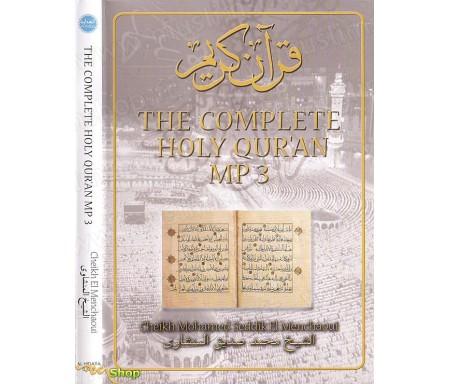 Le Saint Coran Complet en Mp3 par EL-MENCHAOUI