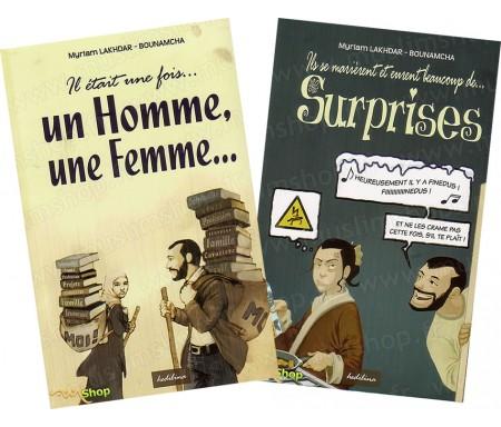 """Pack """"Il Etait une Fois...Un Homme, Une Femme..."""" (2Livres)"""