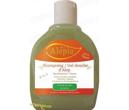 Shampoing Gel douche d'Alep