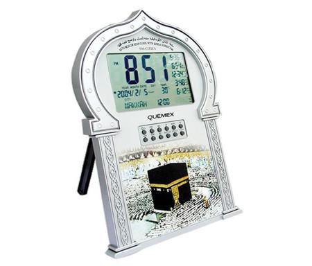 Horloge avec heures des prières et Azan