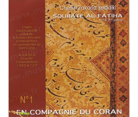 En Compagnie du Coran, Sourate AL-Fatiha - Cd + Dvd
