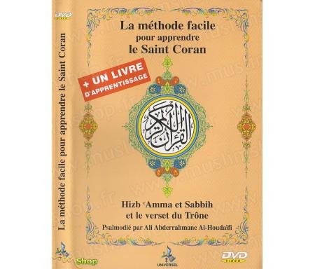 La Méthode Facile pour Apprendre le Saint Coran + Livre d'Apprentissage