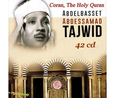 Coffret 48 Cds - Coran Tajwid - Abdelbasset Abdessamad