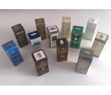 Lot de 12 parfums en stick Homme à base de Musc Al-Rehab 3ml