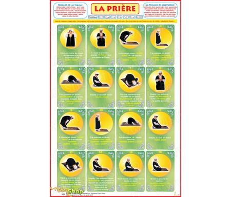 Poster La Prière expliquée à mon Garçon (40x60cm)