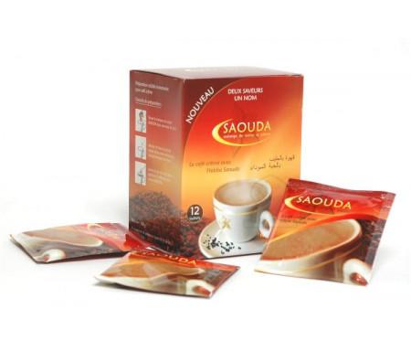 Café Crème avec Habba Saouda (Graine de Nigelle) - Boite de 12 Sachets