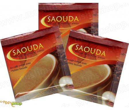 3 Sachets Café Crème avec Habba Saouda (Graine de Nigelle)