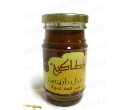 Miel d'Abeille à l'Huile de Graine de Nigelle - 150g