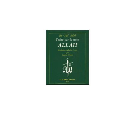 Traité sur le Nom Allah