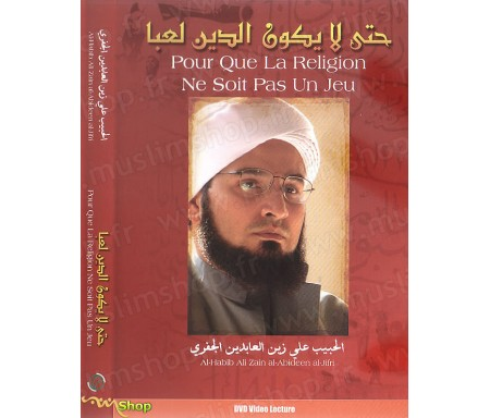 DVD - Pour Que la Religion ne Soit pas Un Jeu