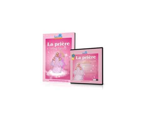 Coffret La Prière Expliquée à ma Fille - Livre + CD