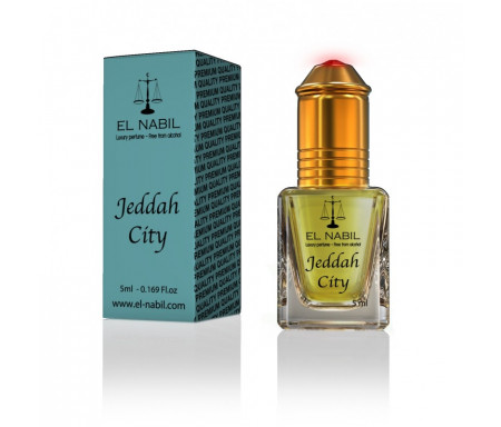 Parfum Jeddah City (Homme) - 5ml - El Nabil Classique