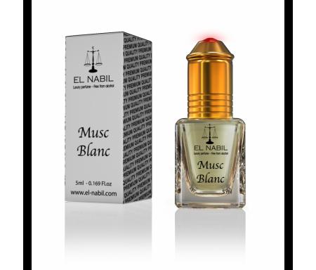 Parfum Musc Blanc (Homme) - 5ml - El Nabil Classique