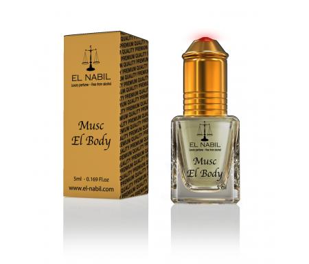 Parfum Musc El Body (Femme) - 5ml - El Nabil Classique