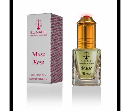 Parfum Musc Rose (Femme) El Nabil - 5ml