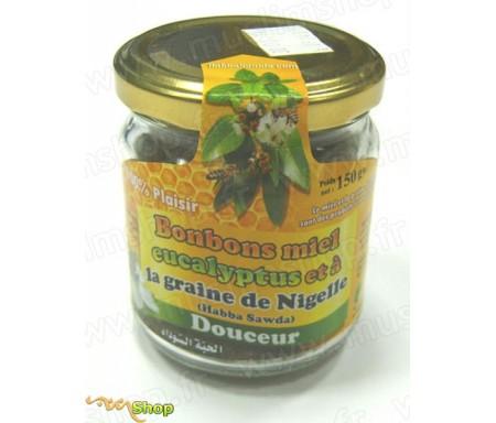 Bonbons Miel Eucalyptus à la Graine de Nigelle (Habba Sawda) - Pot de 150 gr