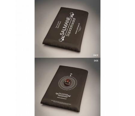 Tapis de Prière avec Boussole Intégrée pour Voyageur Salmane - Format Poche avec son Etui