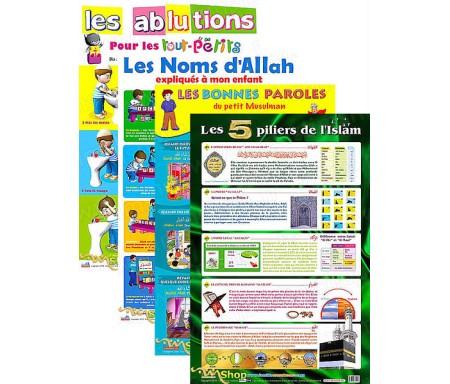 Pack 4 Posters - L'Education Spirituelle des Enfants