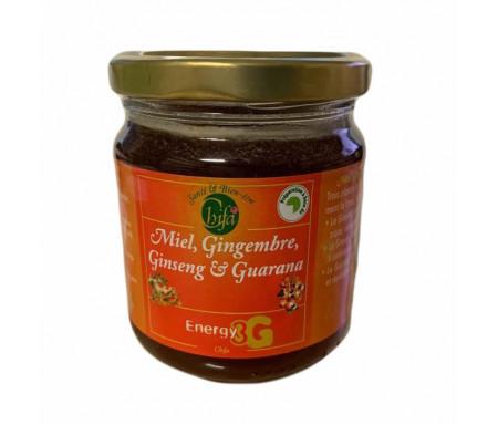 Miel Energy 3G (Ginseng - Gimgembre - Guarana) 250g