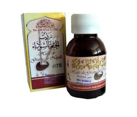 Huile de Cumin Noir (Graine de Nigelle) 60 ml Aboul Kacem - Zayt al-Habba Sawda
