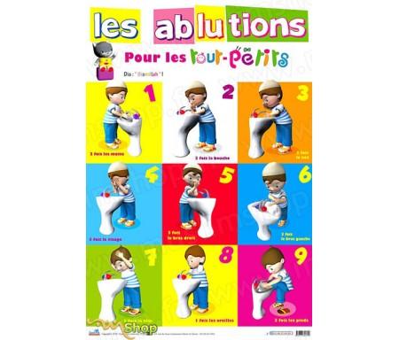 Poster Les Ablutions pour les Tout-Petits