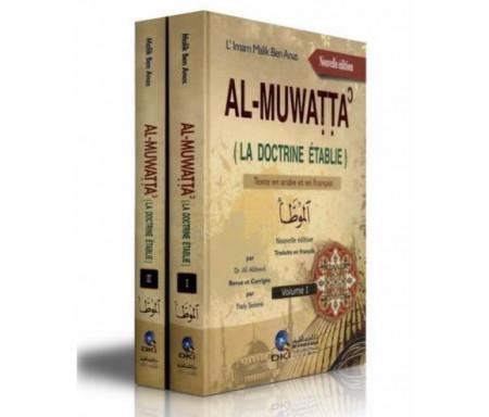 Al-Muwatta' - La doctrine Etablie (Textes en Arabe et en français) 2 Volumes