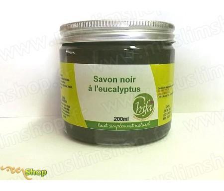 Savon noir CHIFA véritable à l'eucalyptus, Qualité supérieure