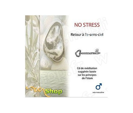 No-Stress - Retour à l'E-Sens-Ciel (CD de méditation, voix Masculine)
