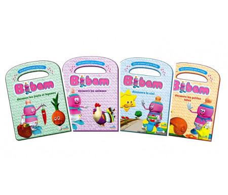 Pack - Avec Bibam, Mes premiers pas en Islam (4 livres)