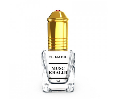 Parfum Musc Khaliji (Mixte) El Nabil - 5ml
