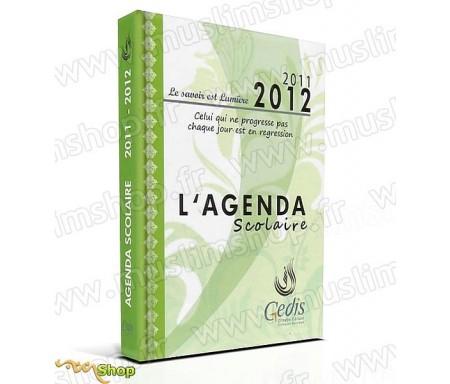 """Agenda Scolaire Vert """"Le Savoir est Lumière"""" 2011-2012"""