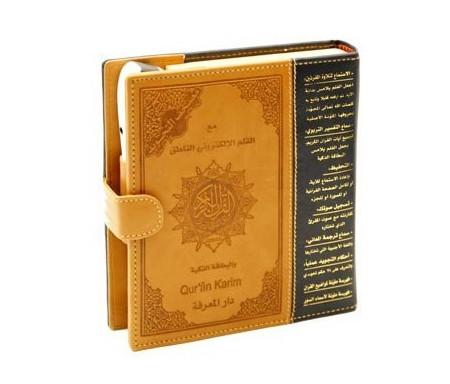Coran Tajwid + Stylo Lecteur (Arabe)