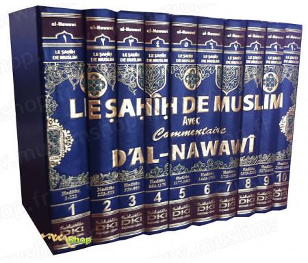 Le Sahih de Muslim avec commentaires d'AL-NAWAWI