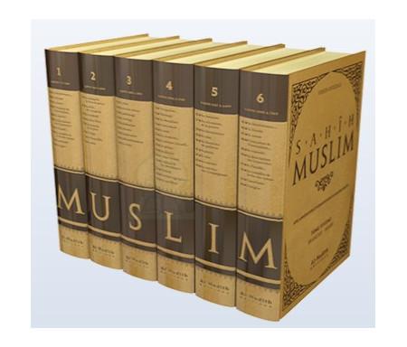 Sahih Muslim Intégrale en 6 volumes (Arabe-Français)