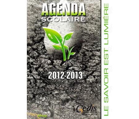 """Agenda Gedis Gris """"Le Savoir est Lumière"""" 2012-2013"""